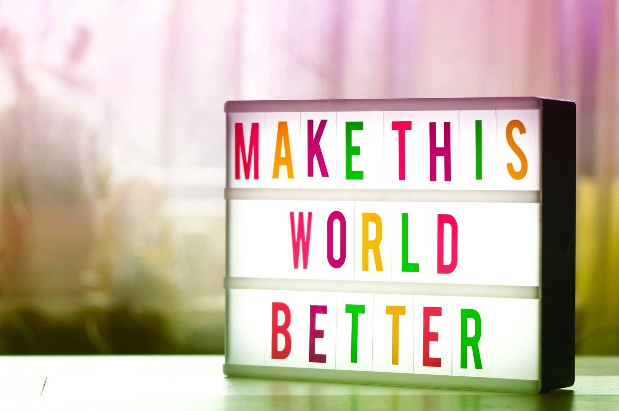 aziende migliorano il mondo