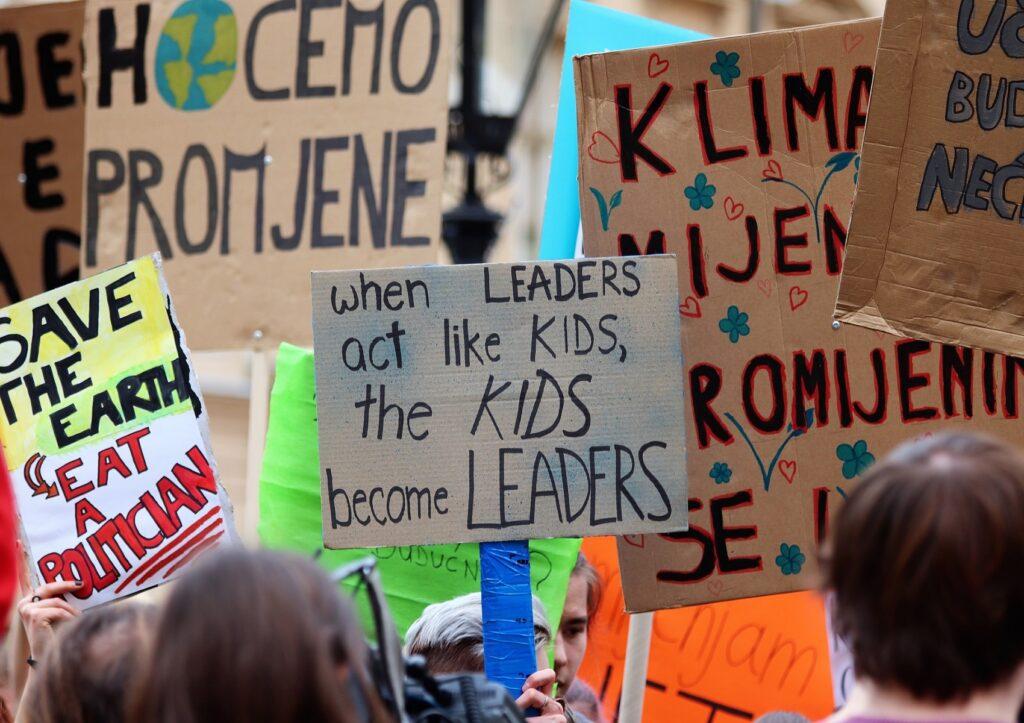cambiamento climatico tema